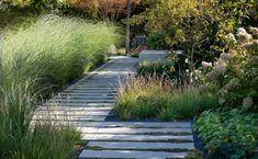 Naše práce   Flera Deck Design, Landscape Design, Hydrangea, Stepping Stones, Sidewalk, Exterior, Patio, Outdoor Decor, Plants