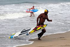 """Portraits of Hope: """"Summer of Color"""" - LA County Lifeguard in knee board competition. Vista Paint, Skinny Cow, Beach Lifeguard, Volunteer Services, Hasbro Studios, Hermosa Beach, Los Angeles County, Public Art, Kayaking"""