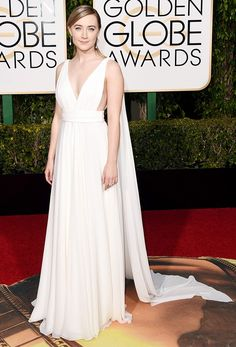 Saoirse Ronan in Saint Laurent Couture