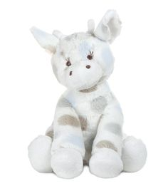 How cute is this snuggly plush giraffe? My kids will love this!