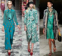 Limpet Shell: Gucci, Gucci, Prada S/S 16