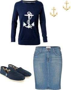 """""""anchor"""" by hannahtay96 ❤ liked on Polyvore"""