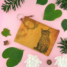 Cat vintage print vegan coin purse from Viaggio collection by LAVISHY for wholesale to gift shops, clothing & fashion accessories boutiques, book stores in Canada, USA & worldwide. Online shopping at www.lavishy.ca Travel Accessories, Fashion Accessories, Gift Shops, Vegan Fashion, Boutiques, Vintage Prints, Vegan Leather, Online Shopping, Coin Purse