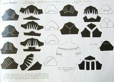 The Pattern Cutting Book, by Miami Wegelin. Soooo many sleeves!