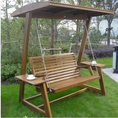 Кресло-качалка Three student wood #SwingChair
