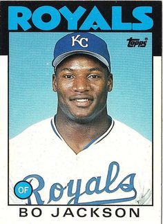 Famous Baseball Players, Baseball League, Baseball Card Values, Baseball Cards, Baseball Socks, Royals Baseball, Player Card, Baseball Pictures, Bo Jackson