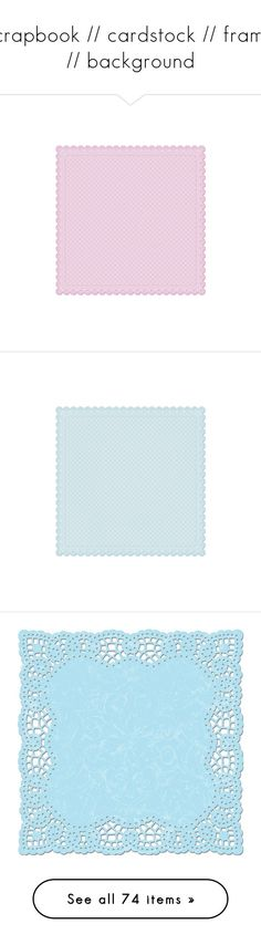"""scrapbook // cardstock // frame // background"" by chloe89 ❤ liked on Polyvore featuring backgrounds, frames, borders, scrapbook, filler, picture frame, fillers, paper, blue and outline"