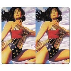 26x21cm 10x8inch personal gaming mousemat precise cloth & Environmental rubber fast speeds design wo @ niftywarehouse.com #NiftyWarehouse #DC #Comics #ComicBooks #WonderWoman #SuperHeroes