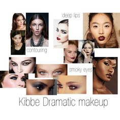 Kibbe Dramatic makeup by furiana on Polyvore featuring Cosabella, NARS Cosmetics and Maybelline