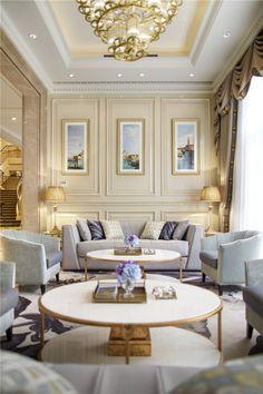 30 Luxury Living Room Design Ideas | Modern Classic Interior, Classic  Interior And Modern Classic