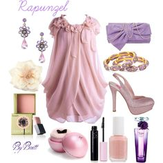 Rapunzel Inspired Summer, created by dancngbrett on Polyvore