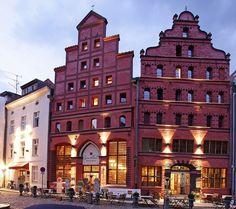 Hotel Scheelehof, Stralsund, Mecklenburg-Vorpommern, Northeastern Germany