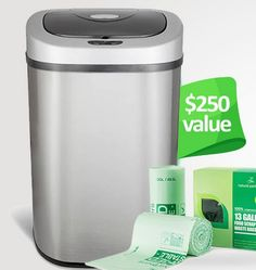 "Mommy Comper Shared: Win Electric Trash Can & Compostable Bags – #Giveaways (US)  <a href=""https://www.mommycomper.com/2018/07/win-electric-trash-can-compostable-bags-giveaway-us/?utm_source=pinterest.com&utm_medium=social&utm_campaign=Social+Share"" target=""_blank"">To learn more click here.</a>"