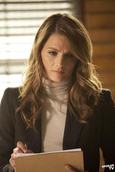 Kate Beckett - A New York detective solving murders with poise and patience, keeping everyone in line.