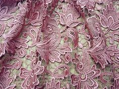 Stunning Guipure Embroidery Wedding Lace Fabric 47 Wide FOR Bridal DRESS1 2Yard | eBay