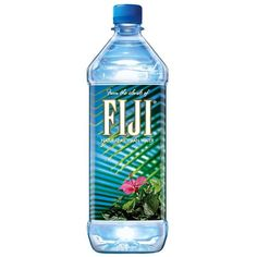 FIJI Water Bottled Water, 1L, 12 ct ($16) ❤ liked on Polyvore featuring food, fillers, drinks, accessories and food and drink