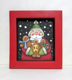 Hey, I found this really awesome Etsy listing at https://www.etsy.com/listing/478407672/santa-claus-with-gingerbread-cookies