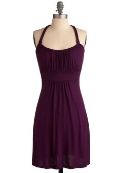 Richly Royal Dress. This item was picked by you in our Be the Buyer Program. #purple #modcloth