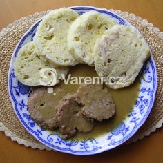 Svíčková z vepřové pečeně recept - Vareni.cz Cookies, Desserts, Crack Crackers, Tailgate Desserts, Deserts, Biscuits, Postres, Cookie Recipes, Dessert