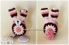 crochet bunny / πλεκ