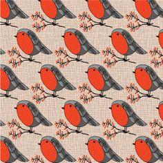 """Day 1 #adventchallenge2013 : """"Robin"""" by Pattern Jots copyright © Pattern Jots by Maike Thoma 2013  www.patternjots.com"""