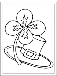 Try These Free, Printable St. Patrick's Day Coloring Pages: First-School.ws Free St. Patrick's Day Coloring Pages