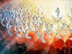 Second Coming of Christ picture. Second Advent Christian Bible illustration on BibleVersesAbout.Org
