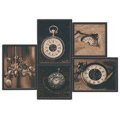 V dekoráciách je sila, to platí aj o obrazoch. Zadovážte si obraz DX TYP 17 CLOCKS, ktorý svojím motívom oživí aj ten najsmutnejší interiér a dodá mu šmrnc. Breitling, Clock, Watch, Clocks
