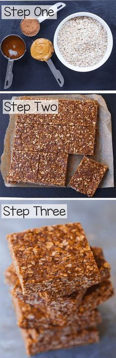 Chocolate Oatmeal No Bake Bars that are healthy and clean eating and vegan