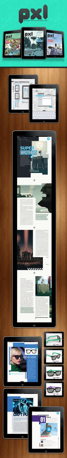 Digital Magazine - http://www.belenscoglio.com.ar/pxl-digitalmag.html #MagPlanet #TabletMagazine #DigitalMag