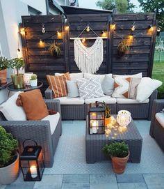 Small Backyard Design, Small Backyard Patio, Backyard Patio Designs, Backyard Ideas, Backyard Landscaping, Backyard Pools, Patio Ideas, Backyard Seating, Landscaping Ideas