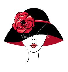 Find Vector Silhouette Woman Hat Poppy Flower stock images in HD and millions of other royalty-free stock photos, illustrations and vectors in the Shutterstock collection. Thousands of new, high-quality pictures added every day. Woman Face Silhouette, Silhouette Art, Hat Vector, Vector Art, Word Art, Red Hat Ladies, Woman Drawing, Button Art, Red Hats