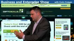Craig Colgan from GIFTDEALS.ie gives away the secret of his success to Colum on Business and Enterprise this week.