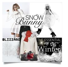 """""""Blizzard"""" by girlyideas ❤ liked on Polyvore featuring The North Face, Woolrich, UGG Australia, Prabal Gurung and blizzard"""