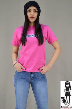 Γυναικείο t-shirt Emily Strangers T Shirts For Women, Metal, Tops, Fashion, Moda, Fashion Styles, Metals, Fashion Illustrations
