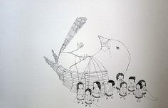 thais beltrame pássaro I