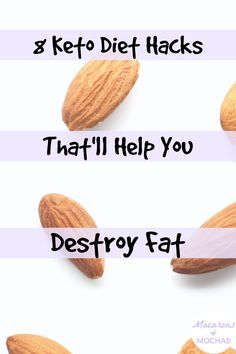 These Keto Diet hacks are THE BEST! I'm so happy I found these GREAT ketogenic diet tips! Now I have some great ways to lose weight and stick to the keto diet. #Macarons&Mochas #KetoHacks Diet Hacks, Diet Tips, Ways To Lose Weight, Fitness Goals, Mocha, Macarons, Ketogenic Diet, Happy, Dieting Tips