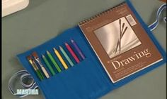 How to Sew an Art Supply Organizer