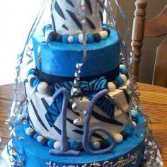 Sweet sixteen birthday cake idea