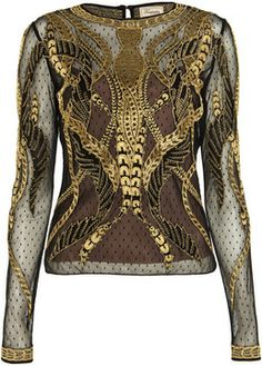 Temperley London Aya Show Top on shopstyle.co.uk
