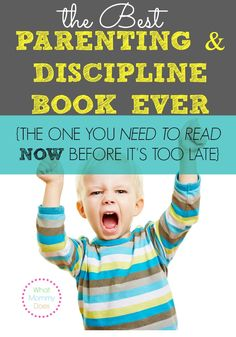 Best Parenting Advice in the World is in this DISCIPLINE book by Dr. James Dobson - a MUST READ if you have a toddler! It helped me stop the defiance and have a happy child.