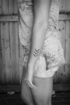 Arrows..i want it small and on the inside of my ankle