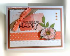 Happy Watercolor, Me,My Stamps and I, Stampin' Up