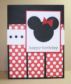Minnie Birthday! by resqbarbie - Cards and Paper Crafts at Splitcoaststampers