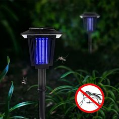 Solar Bug Zapper YUSHAN Outdoor Insect Mosquito Flying Killer Light Also Solar Garden Pathway Lights 2 Lighting Modes Hang or Stake in the Ground *** For more information, visit image link-affiliate link. Solar Pathway Lights, Pathway Lighting, Patio Lighting, Solar Lights, Mosquito Zapper, Bug Zapper, Plants That Repel Bugs, Plant Information, Solar Powered Lights