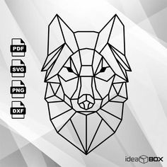 Excited to share the latest addition to my #etsy shop: Abstract Wolf SVG Vector Clipart Svg Files, printing design, png, pdf, DXF, Insta Download http://etsy.me/2ntV7RN #supplies #enameling #wolf #wolfsvg #wolfvector #wolfpdf #vector #svg #abstract