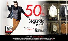 Aprovecha este #BuenFin con nuestras ofertas en las más de 100 sucursales que tenemos; al adquirir una prenda, llévate la segunda con un 50% de descuento.   Dale clic aquí: www.mensfashion.com.mx