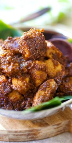 Chicken Rendang – amazing Malaysian-Indonesian chicken stew with spices and coconut milk. Deeply flavorful. The best rendang recipe ever   rasamalaysia.com