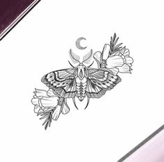 Wicked moth for a lovely lady ✨ tattoo татуировки, тату мини Tattoo Sketches, Tattoo Drawings, Body Art Tattoos, New Tattoos, Small Tattoos, Tatoos, Text Tattoo, I Tattoo, Piercing Tattoo
