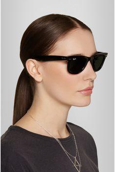 Ray-Ban The Wayfarer acetate sunglasses NET-A-PORTER.COM